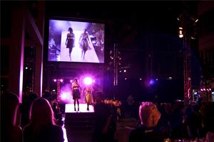 Modeshow på Glasklart i Malmö