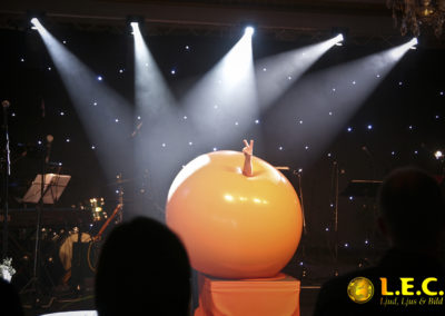 Show på Casino Cosmopol i Malmö