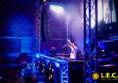 DJ show på Glaskklart i Malmö