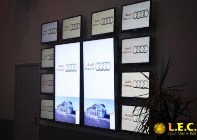 Audi event på Glasklart i Malmö