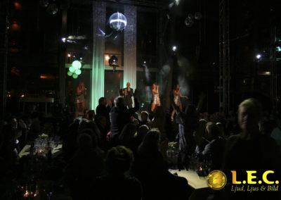 Julshow på Glaskklart i Malmö