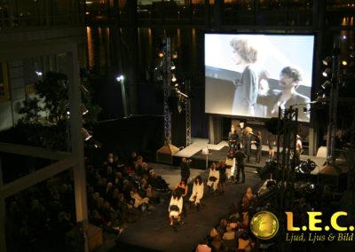 Show på Glasklart i Malmö