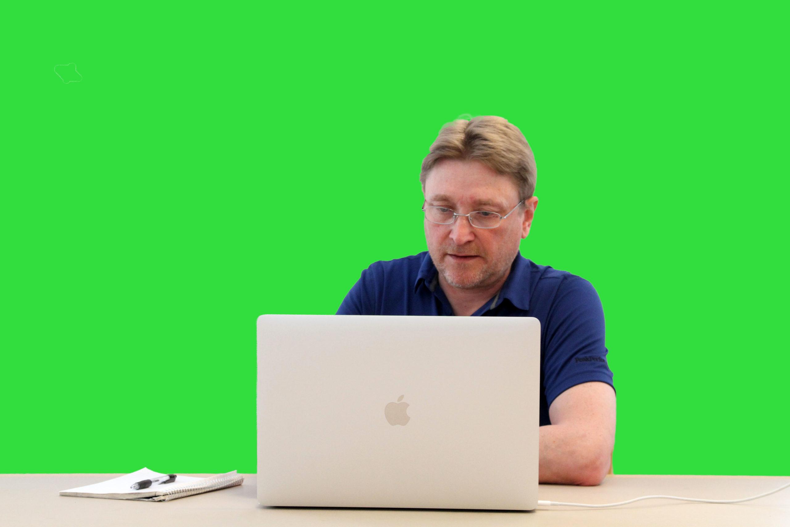 Greenscreen exempel